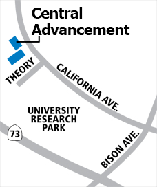 Central Advancement Map