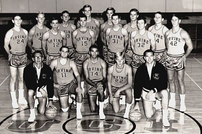Charlie Brande, First UCI Basketball Team