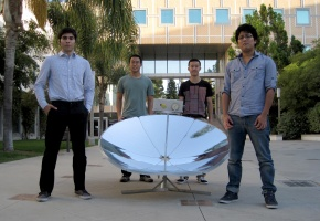 Engineering students to get grant for solar energy stove