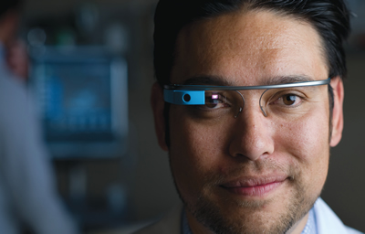 Wearable computing technology will transform training of future doctors